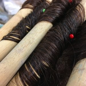 pinning the rods, hair setting, wig setting, styling your wig