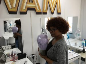 wig making uk, wam studio, wig maker, wig courses, wig classes