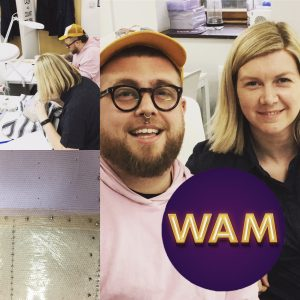 wam studio, facial hair, wig making